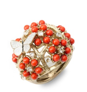 Juicy Couture Coral Ring