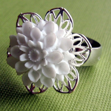 Fresh Summer Floral Ring