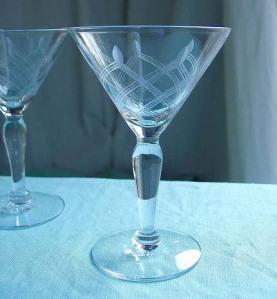 Vintage Martini Glasses - $14.50